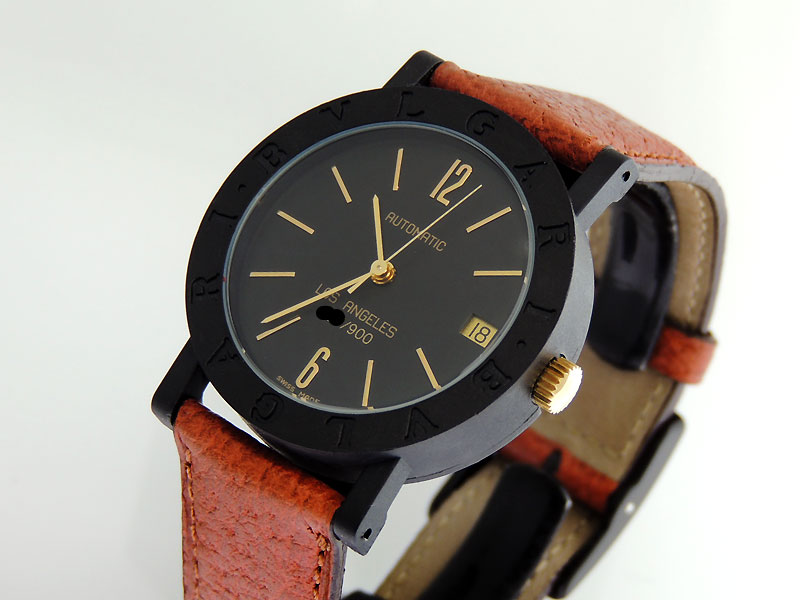 977ae9d45ad BVLGARI Carbon Gold Los Angeles 33mm  Priceless NOS